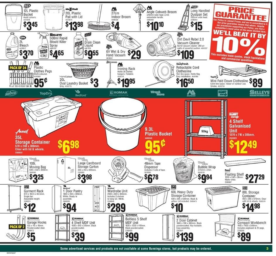 bunnings catalogue march 2017