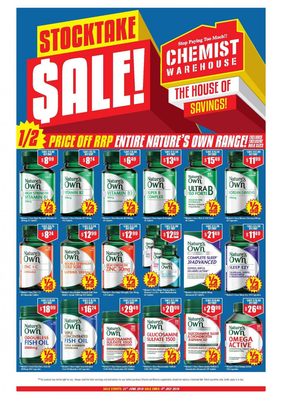 chemist warehouse catalogue 21 jun 4 jul 2019
