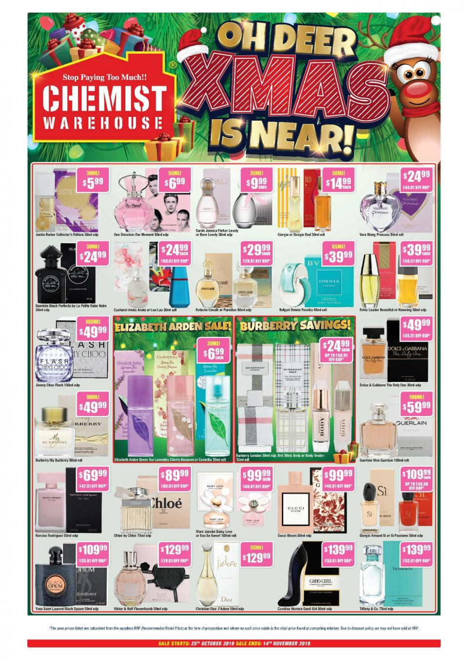 chemist warehouse catalogue 25 oct 14 nov 2019