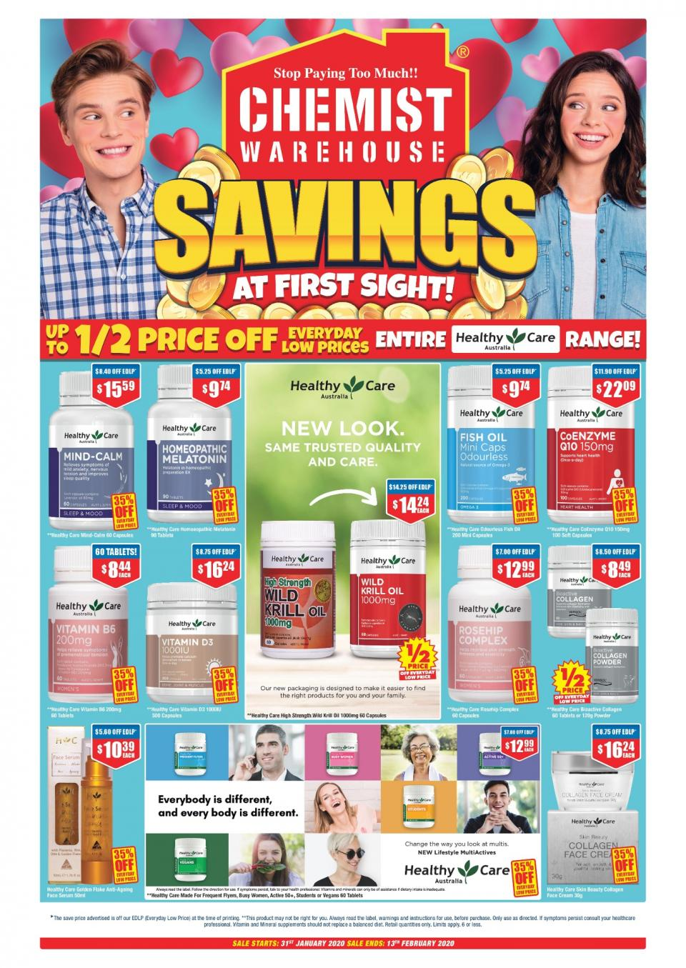 chemist warehouse catalogue 31 jan 13 feb 2020