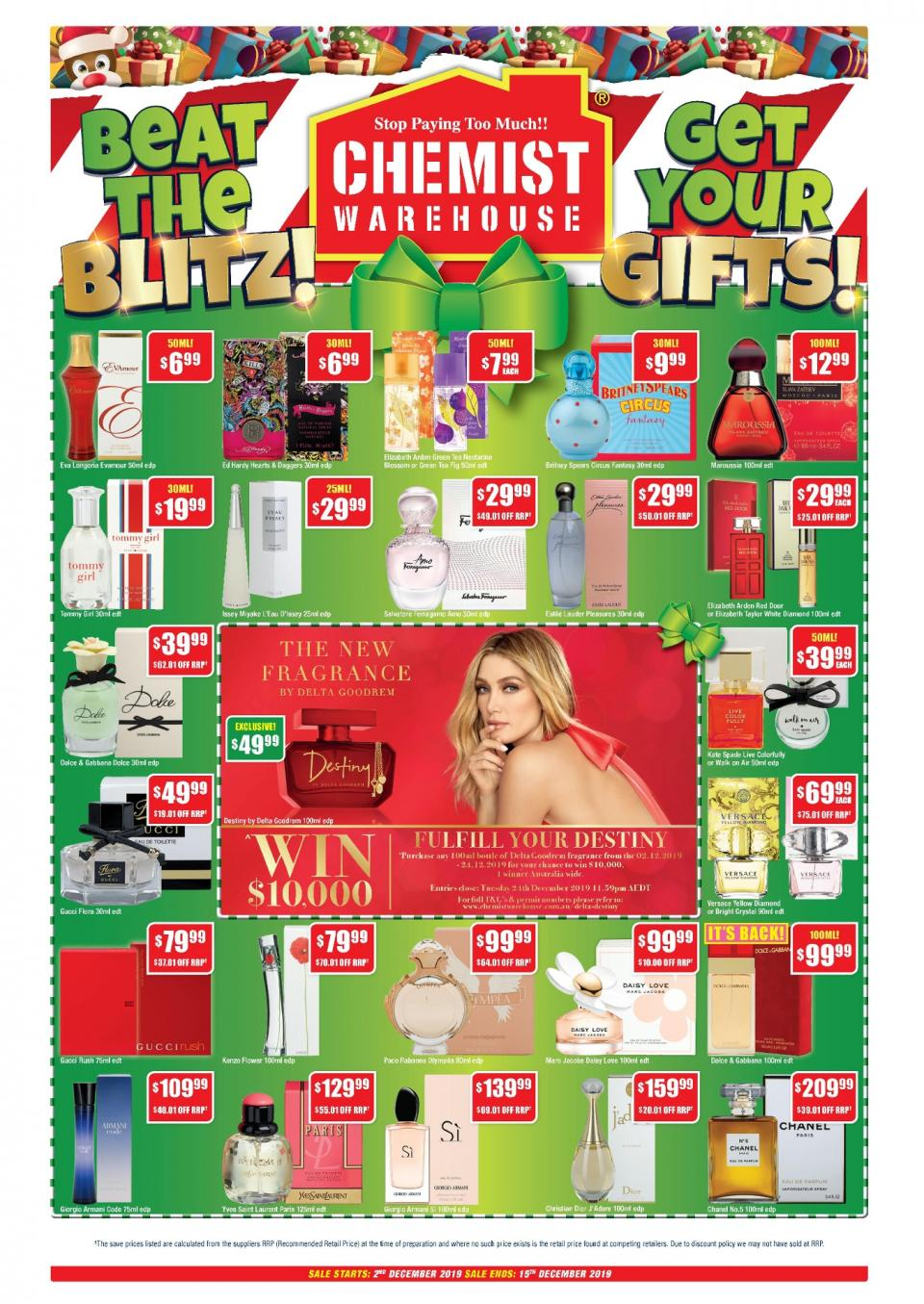 chemist warehouse catalogue christmas 2 15 dec 2019