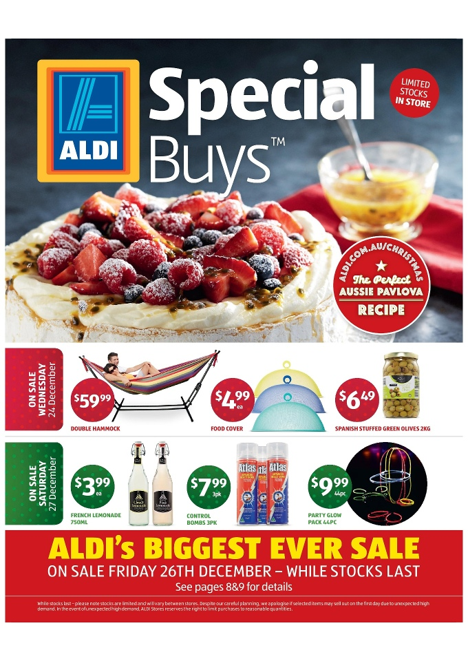 aldi catalogue big sale clearance