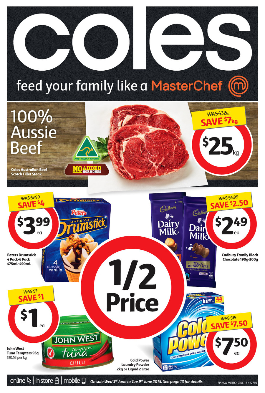 coles catalogue 03 june 2015