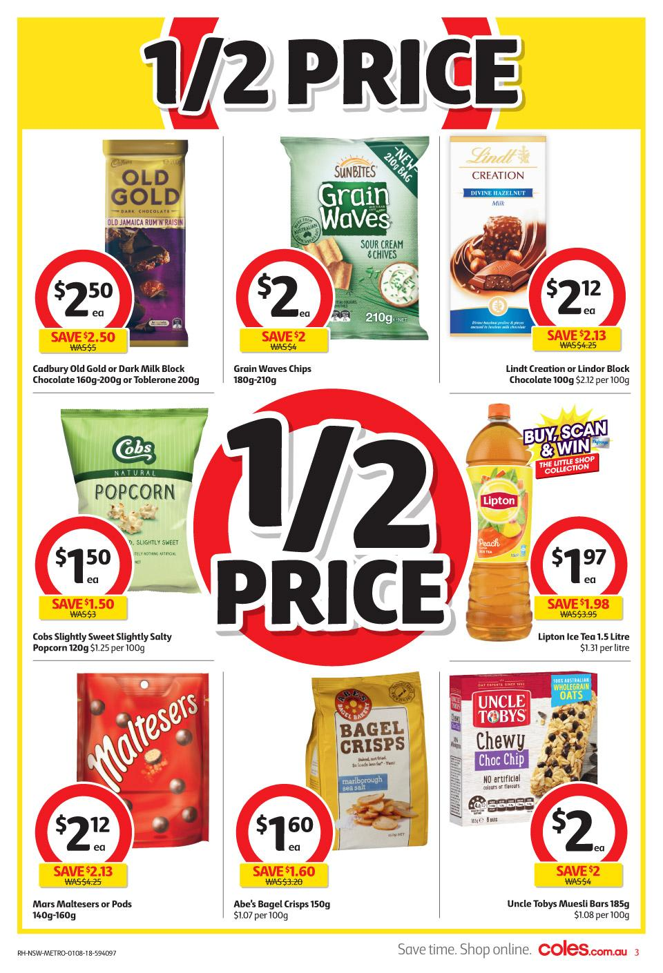 coles catalogue 1 aug 2018