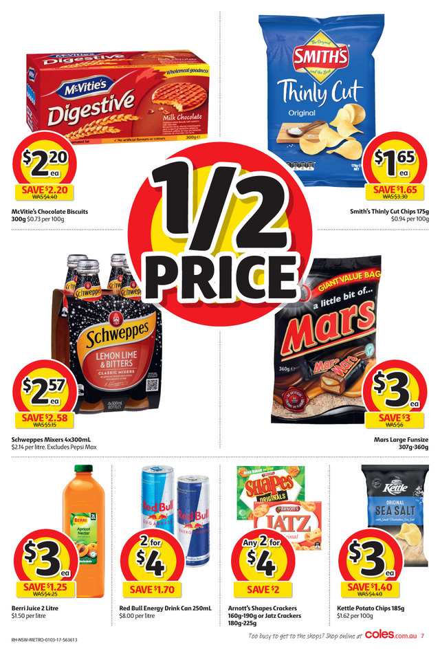 coles catalogue 1 march 2017