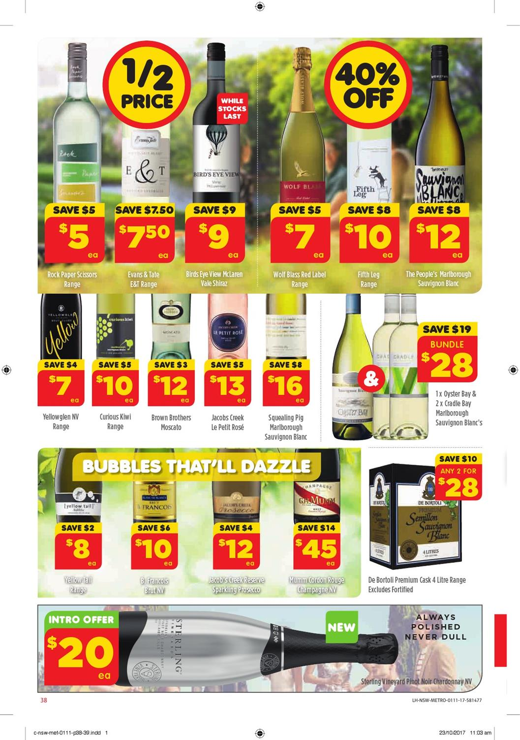 coles catalogue 1 november 2017