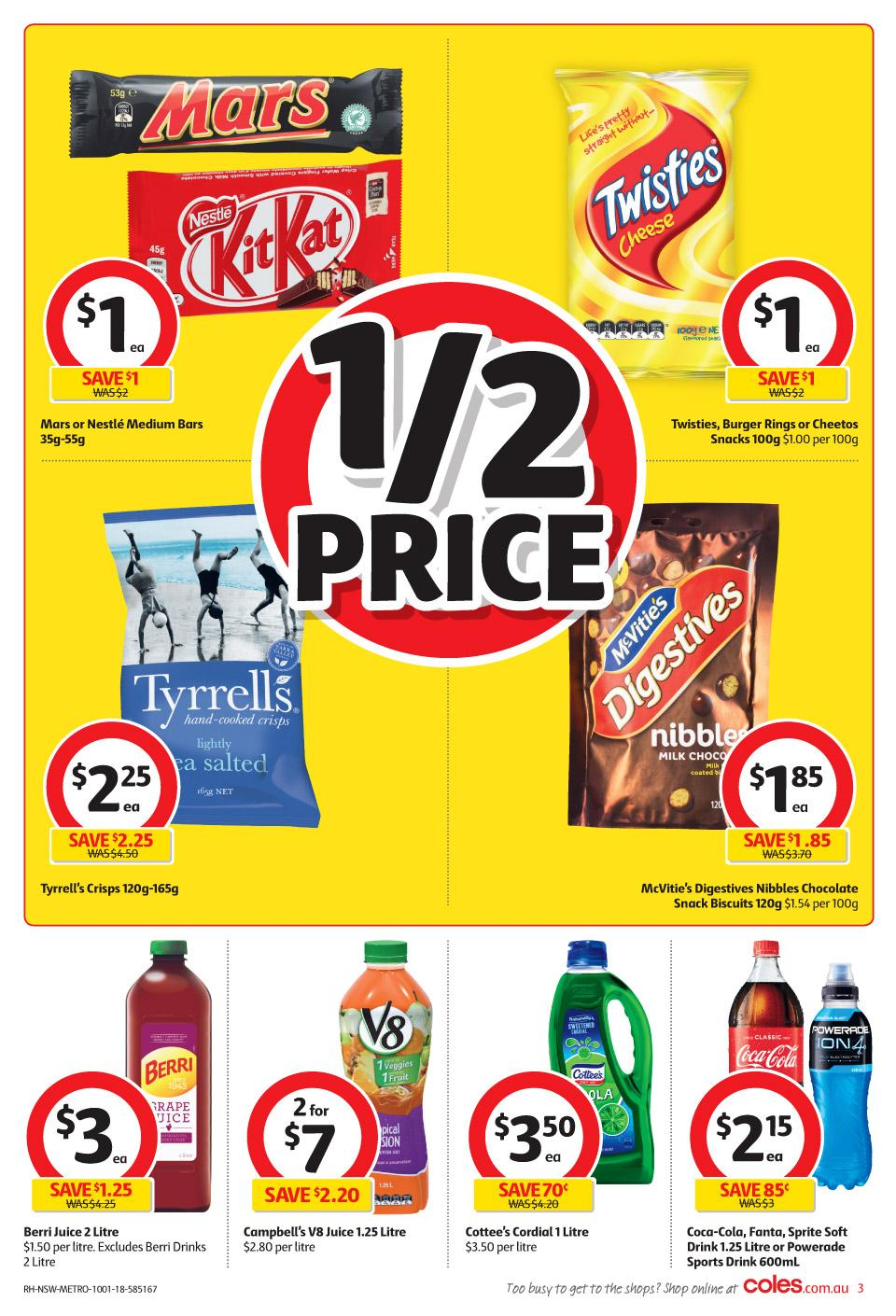 coles catalogue 10 january 2018