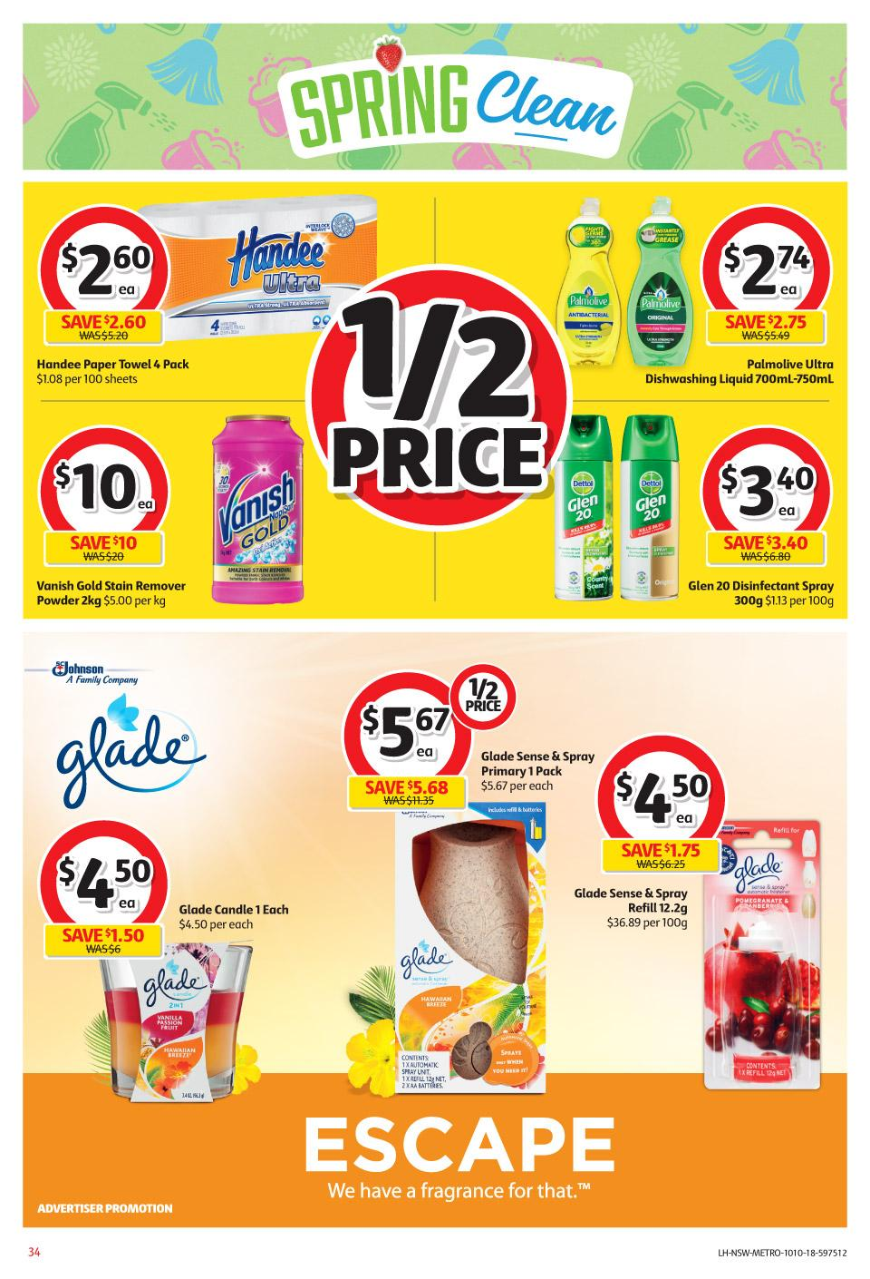 coles catalogue 10 oct 2018