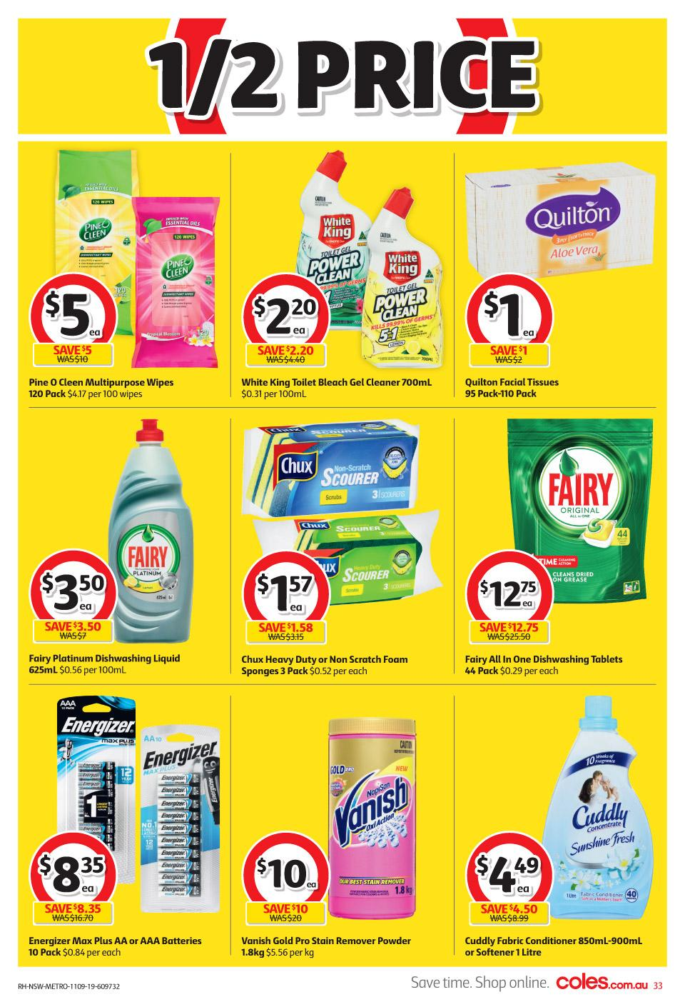 coles catalogue 11 17 sep 2019
