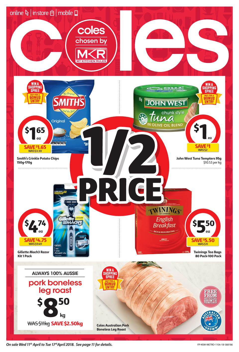 coles catalogue 11 april 2018