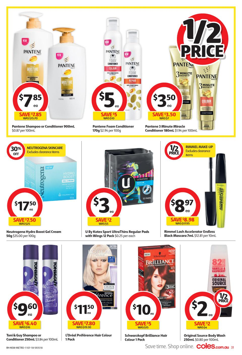 coles catalogue 11 jul 2018