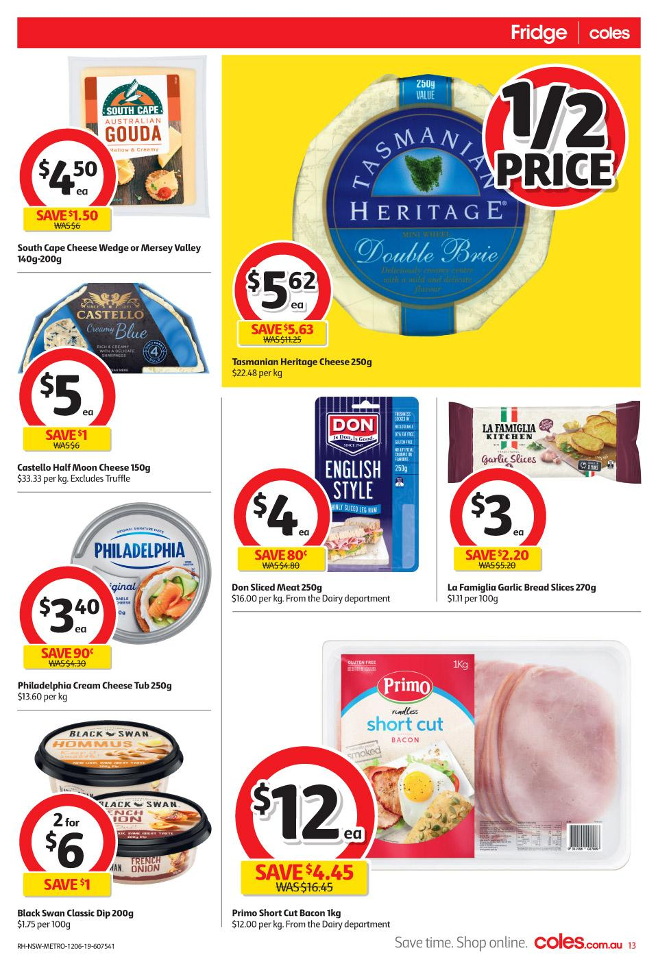 coles catalogue 12 18 jun 2019
