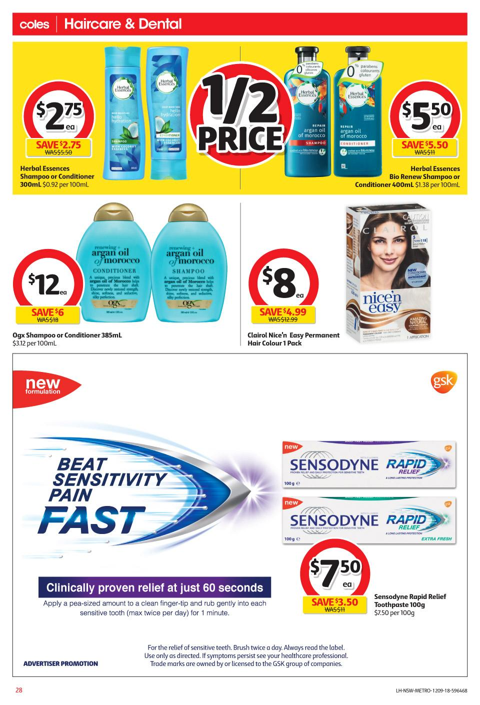 coles catalogue 12 sep 2018