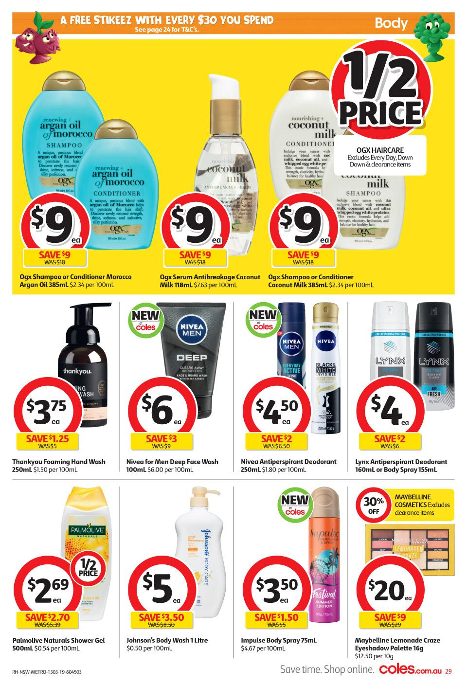 coles catalogue 13 19 mar 2019