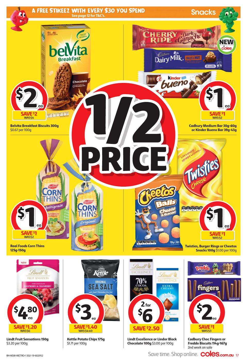 coles catalogue 13 feb 2019