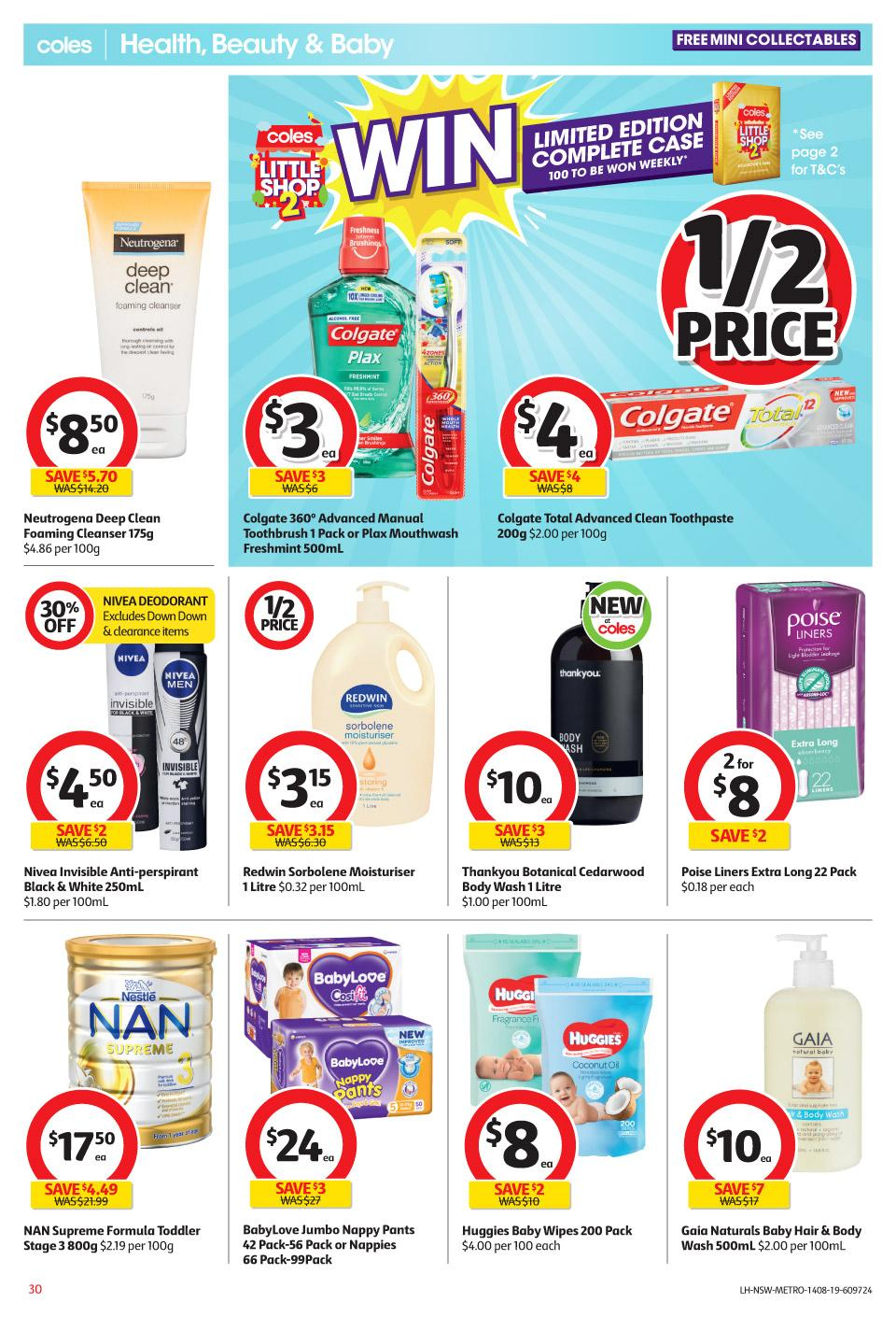 coles catalogue 14 20 aug 2019