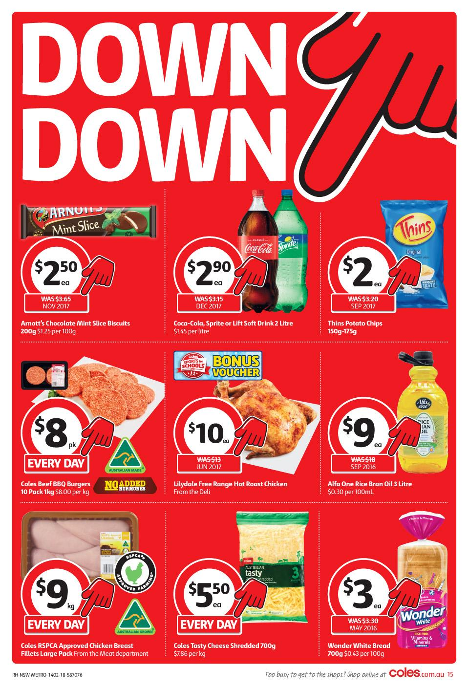 coles catalogue 14 february 2018