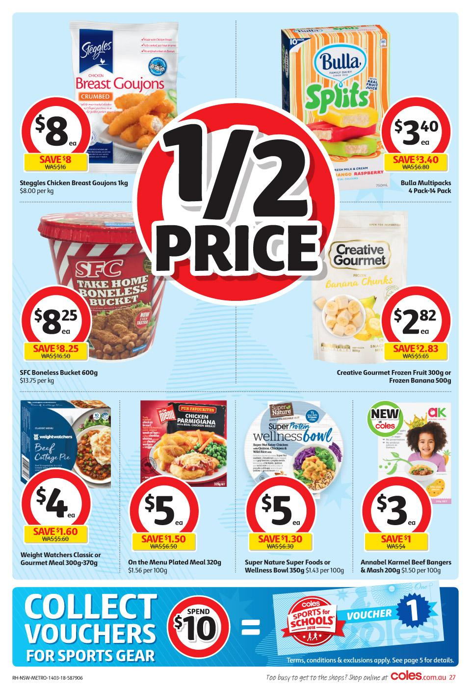 coles catalogue 14 march 2018