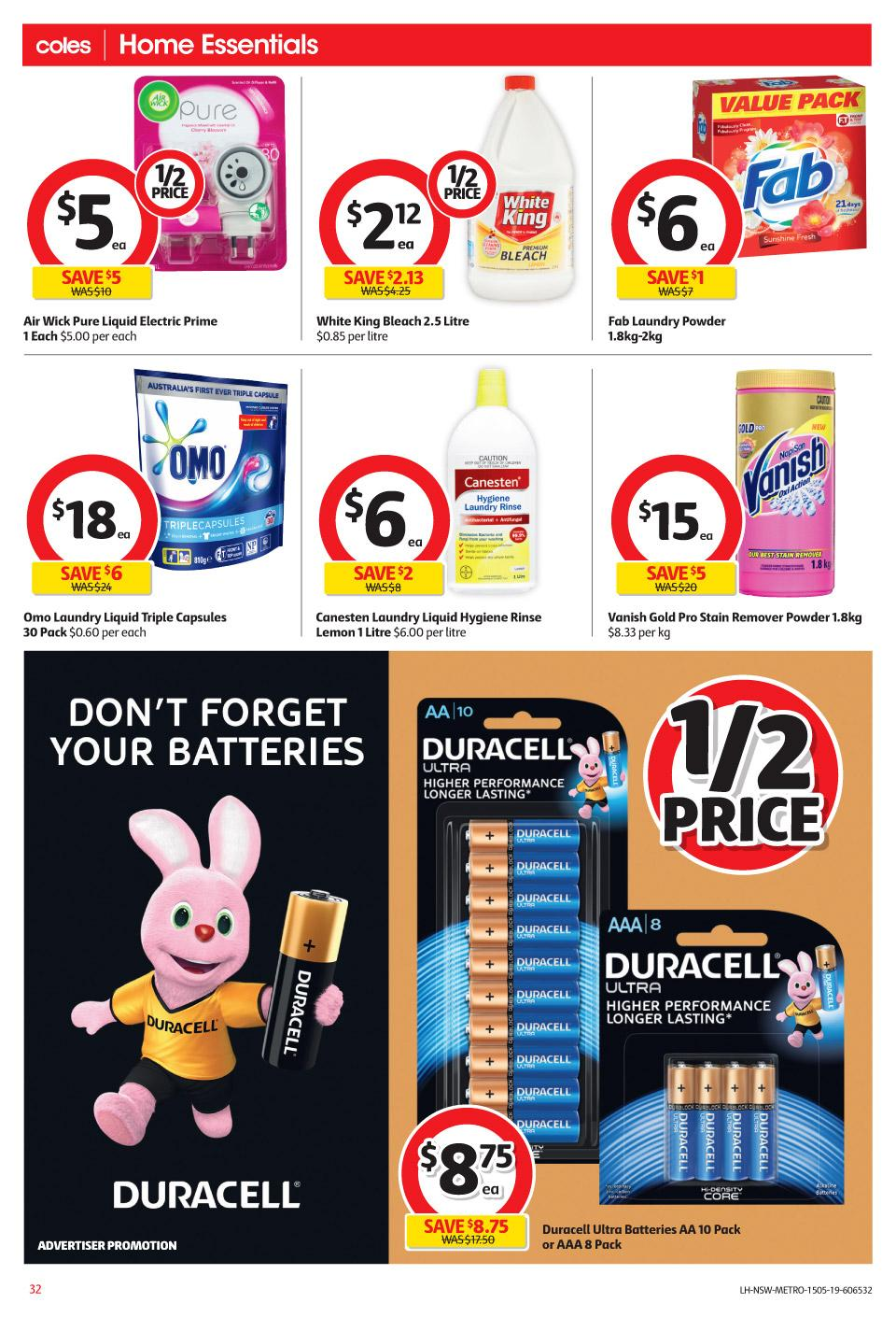 coles catalogue 15 21 may 2019