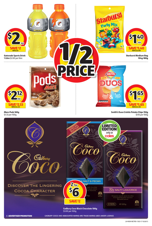 coles catalogue 15 march 2017