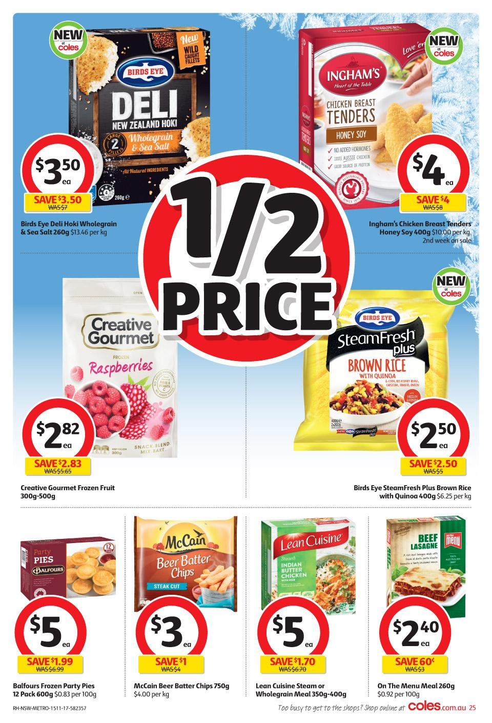 coles catalogue 15 november 2017