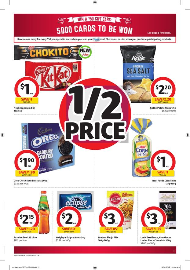 coles catalogue 2 may 2018
