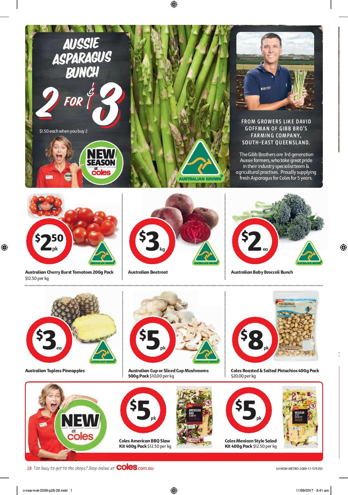 coles catalogue 20 september 2017 deals