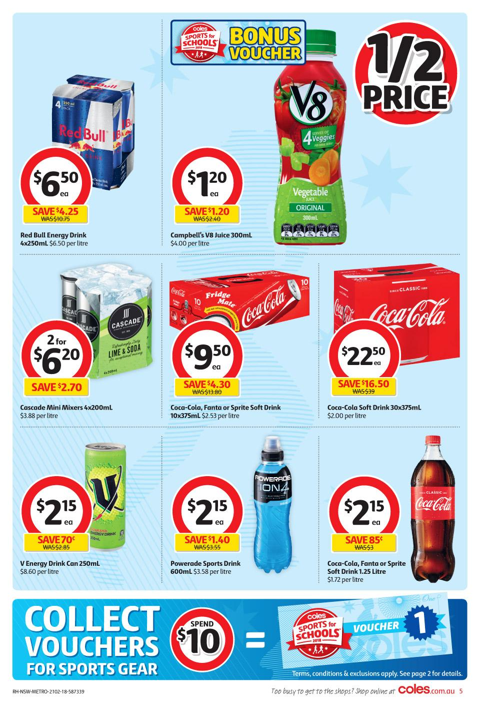 coles catalogue 21 february 2018