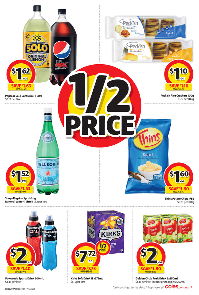 coles catalogue 22 february 2017