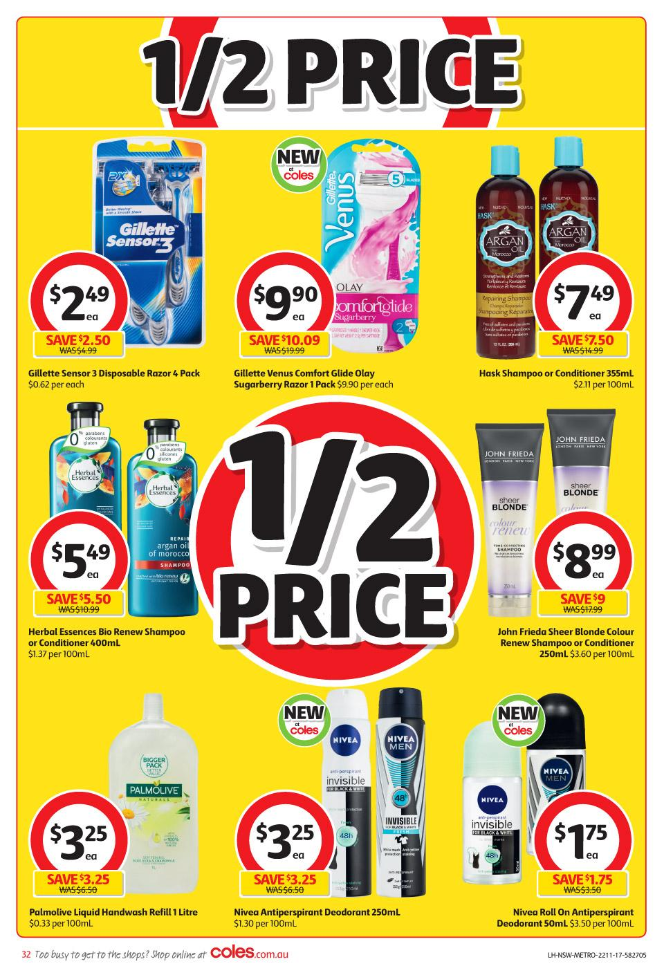coles catalogue 22 november 2017
