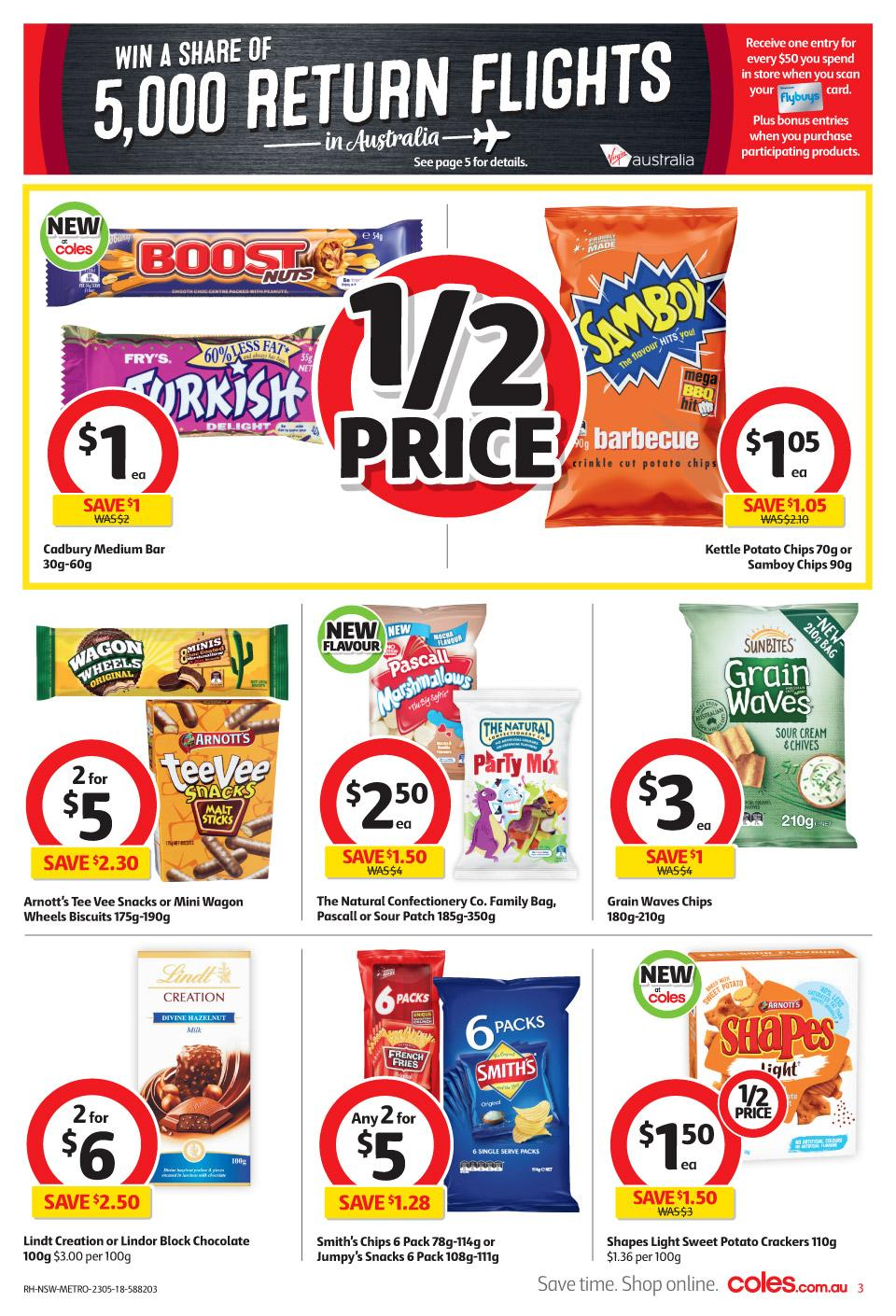 coles catalogue 23 may 2018