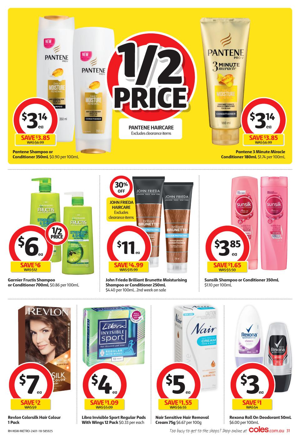 coles catalogue 24 january 2018