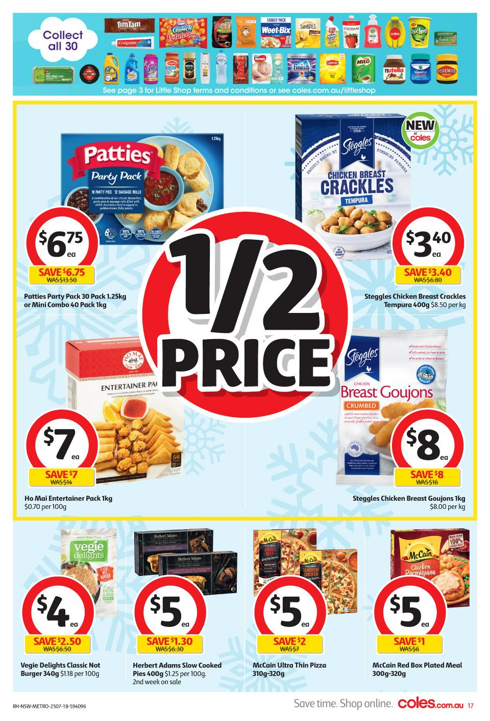 coles catalogue 25 jul 2018