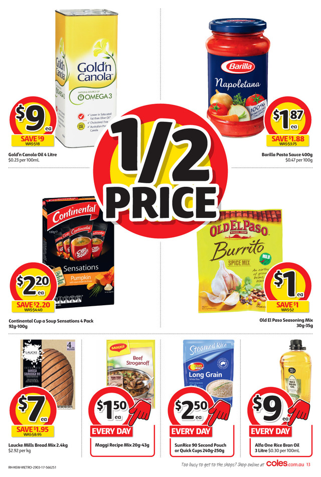coles catalogue 26 mar 2017