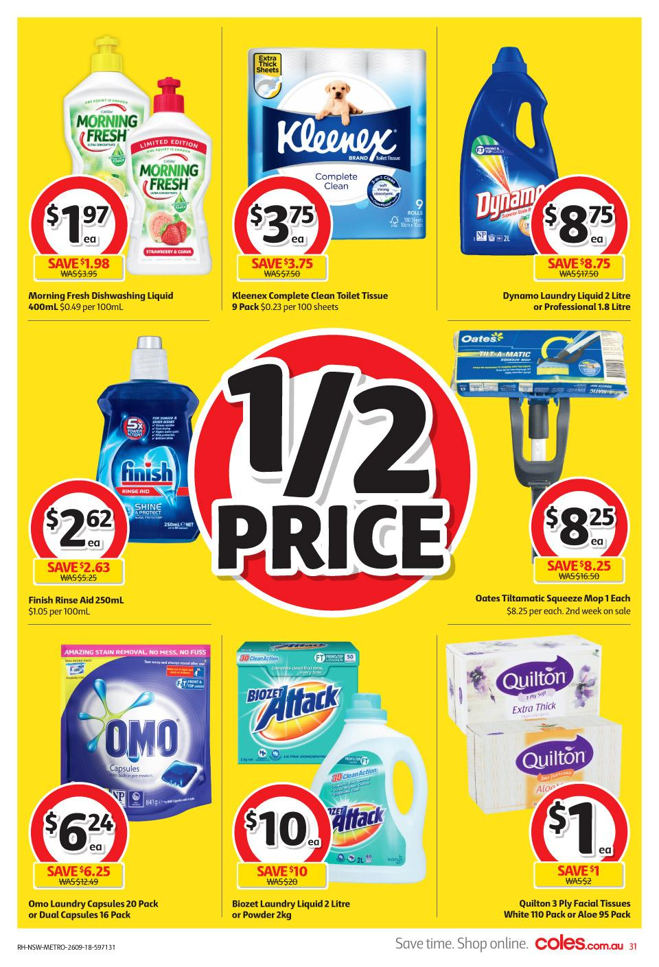 coles catalogue 26 sep 2018