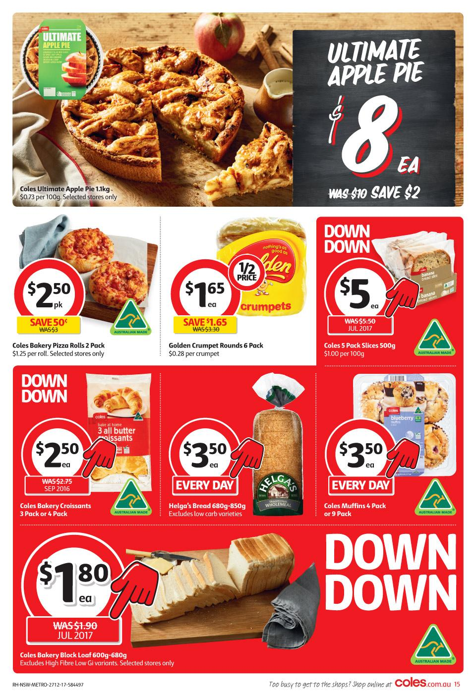 coles catalogue 27 december 2017