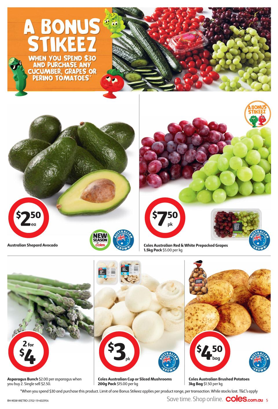 coles catalogue 27 feb 2019