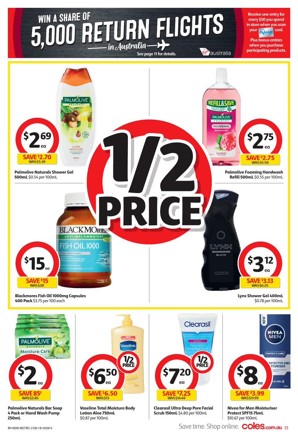 coles catalogue 27 jun 2018