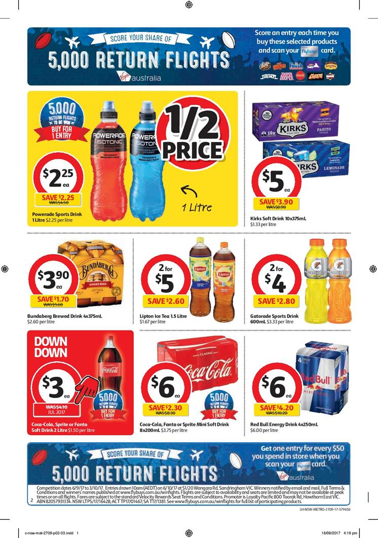 coles catalogue 27 september 2017