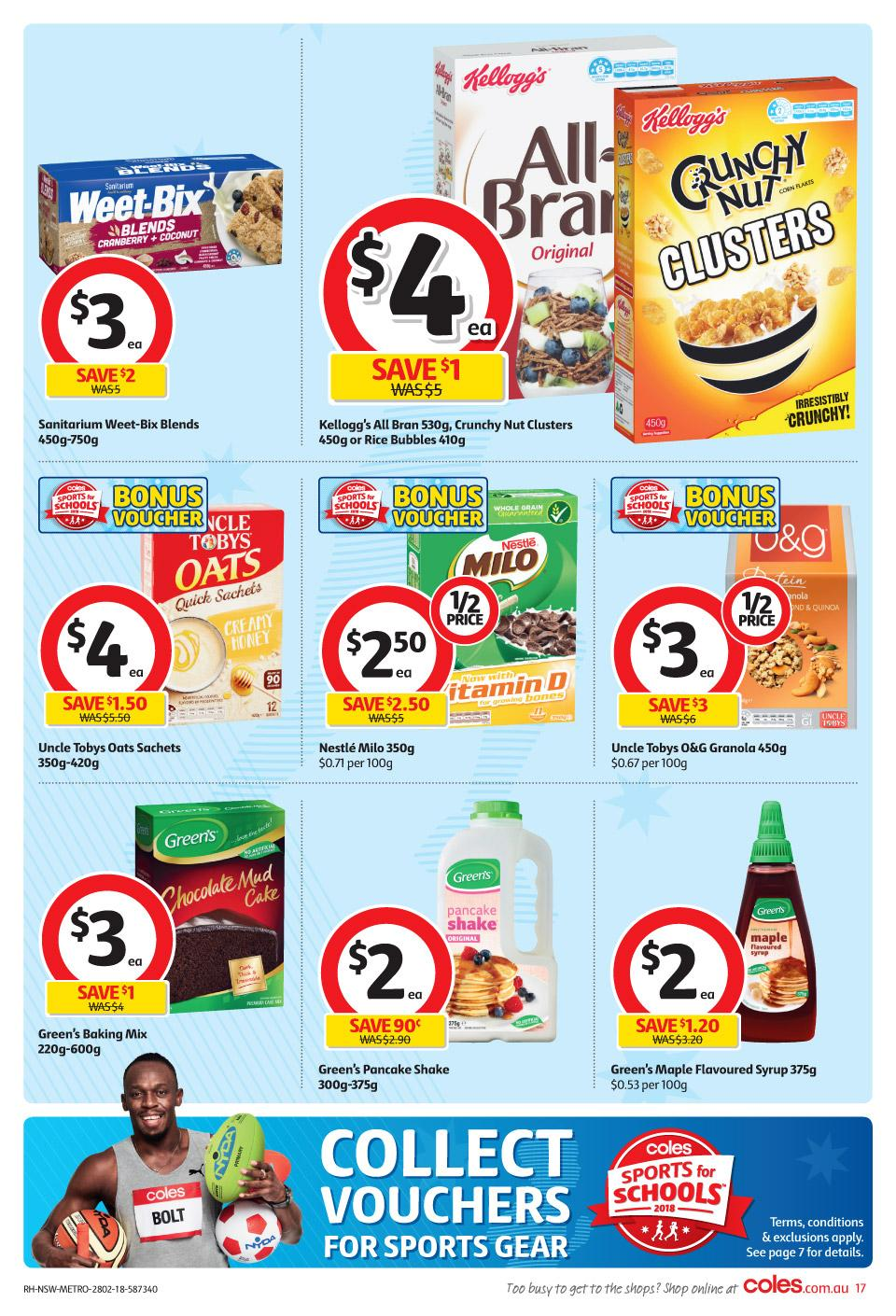 coles catalogue 28 february 2018