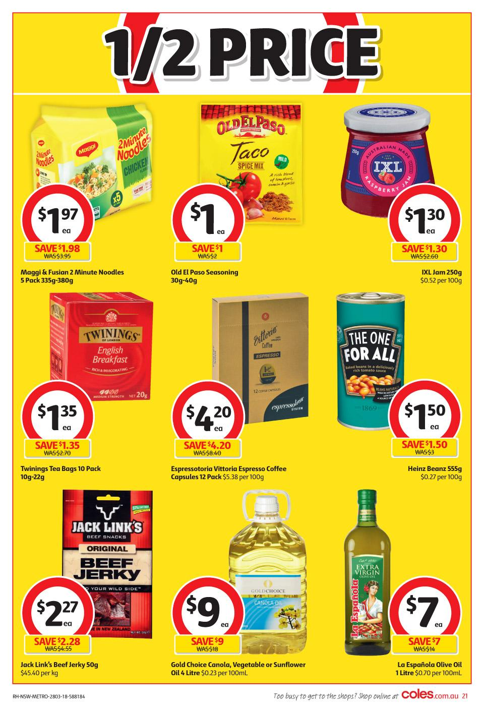 coles catalogue 28 march 2018