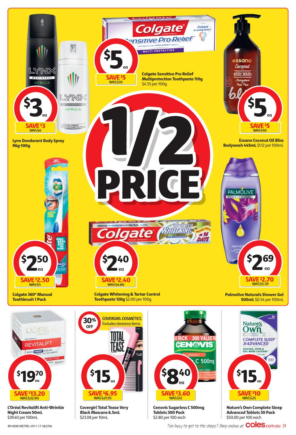 coles catalogue 29 november 2017