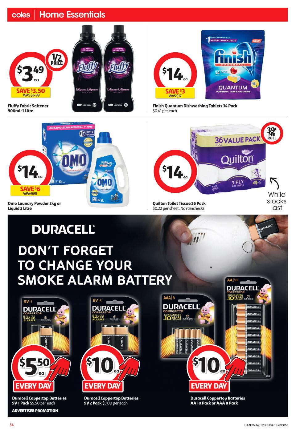 coles catalogue 3 9 apr 2019