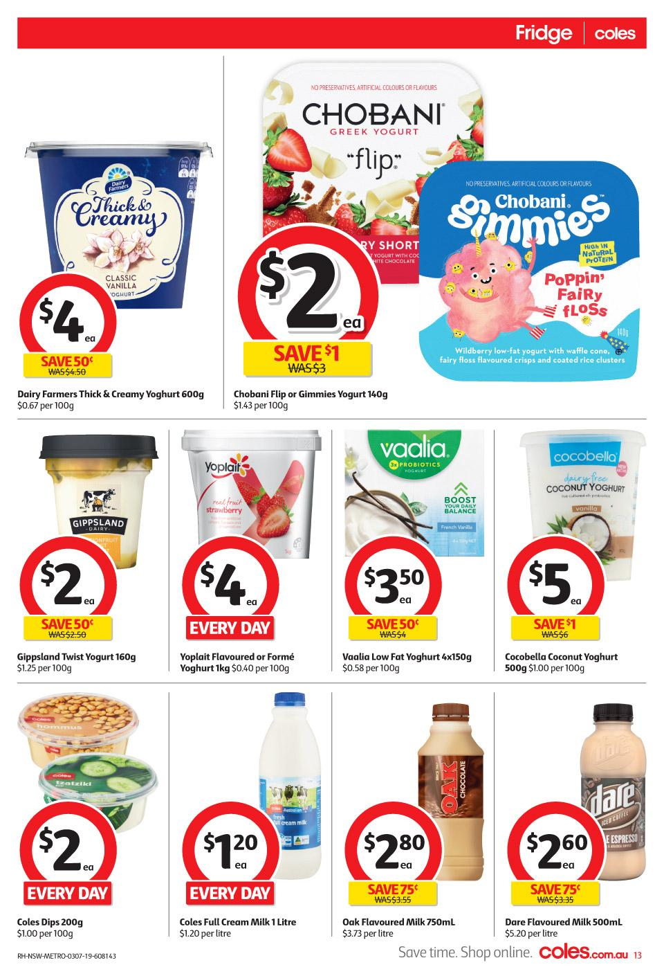 coles catalogue 3 9 jul 2019