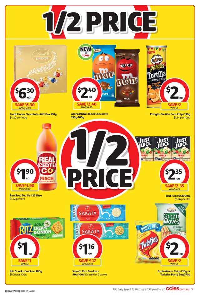 coles catalogue 3 may 2017