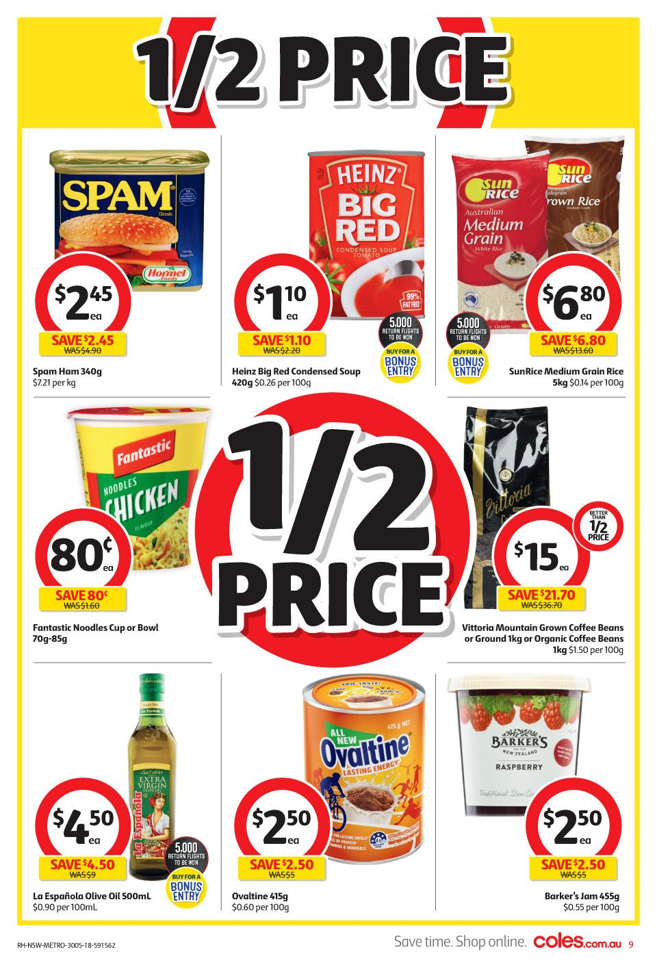 coles catalogue 30 may 2018