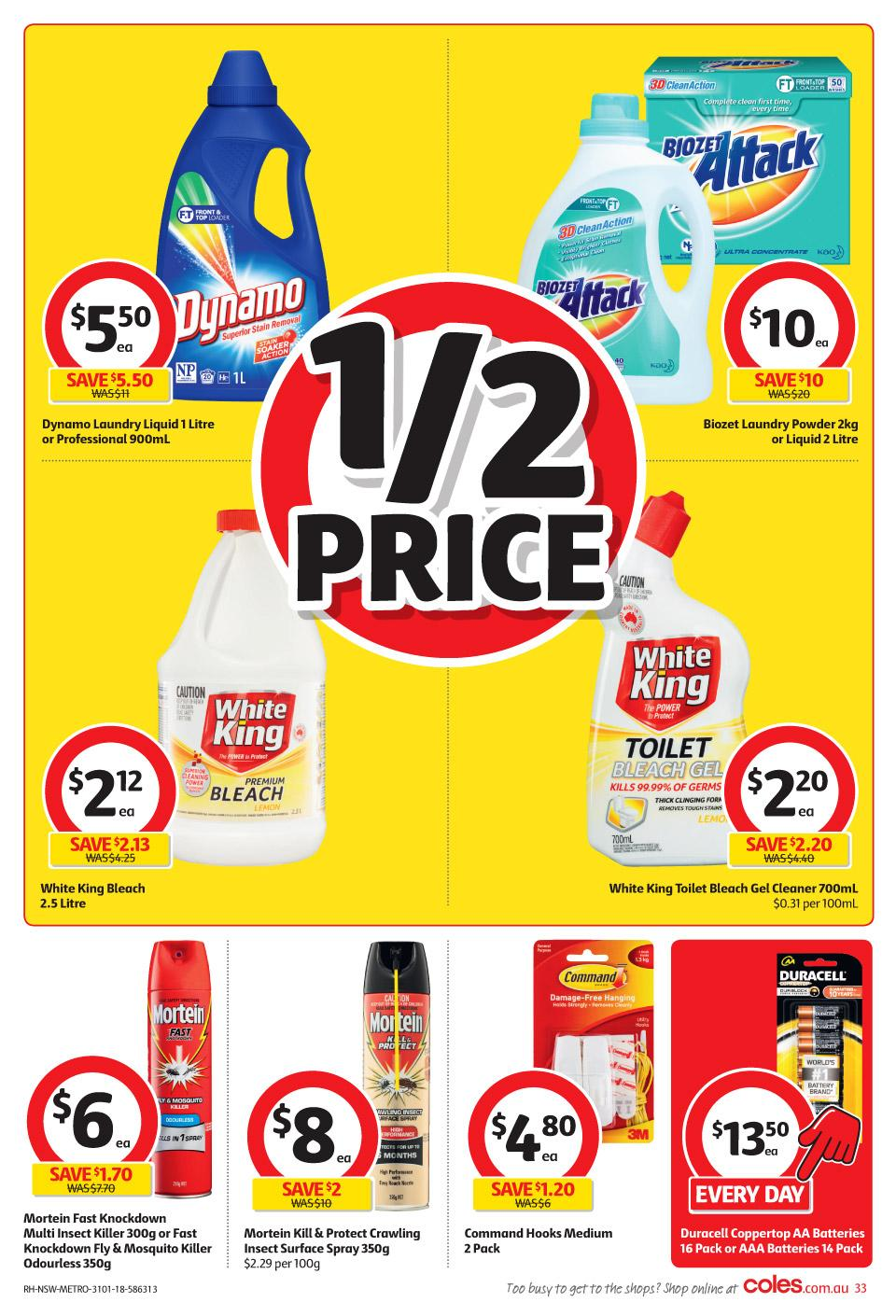 coles catalogue 31 january 2018