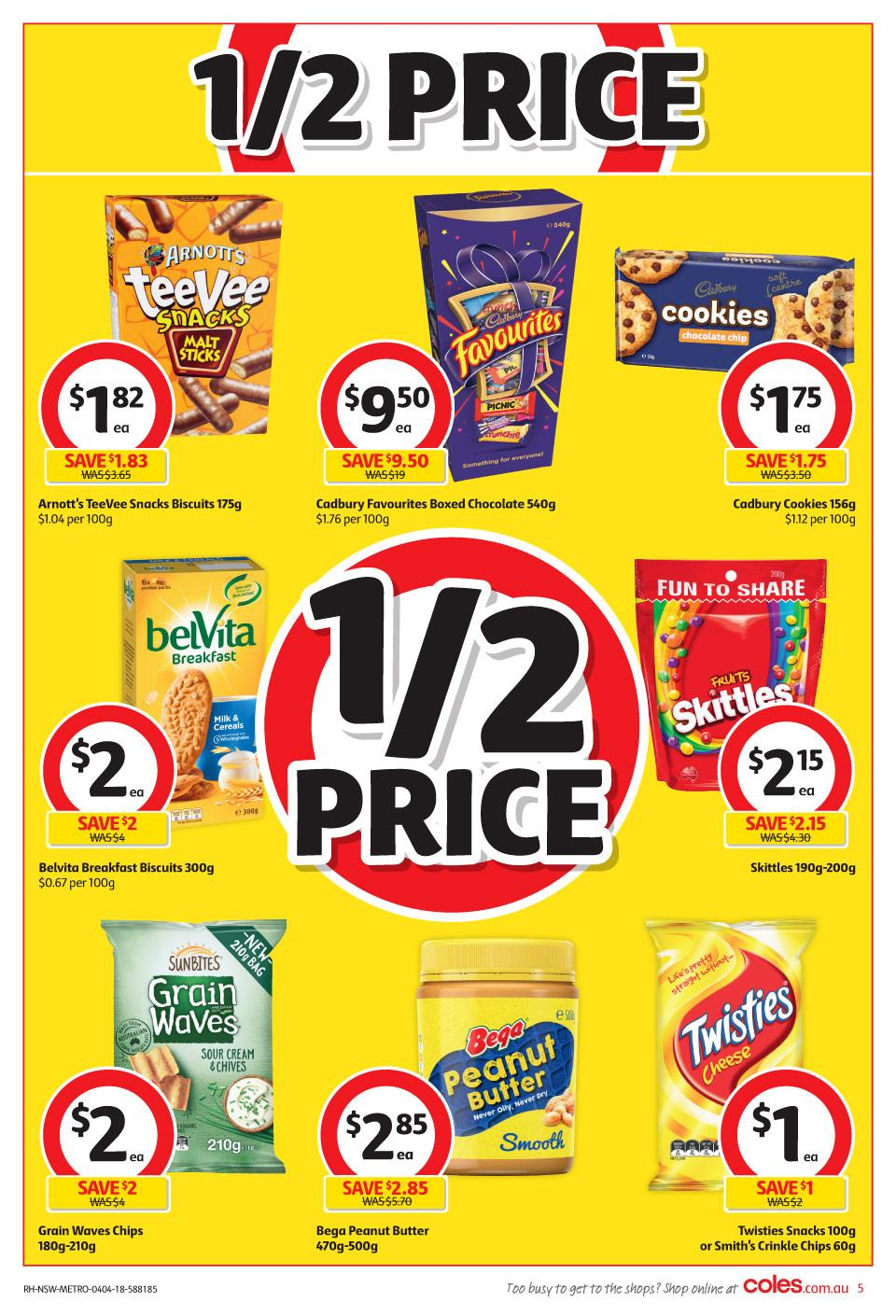 coles catalogue 4 april 2018