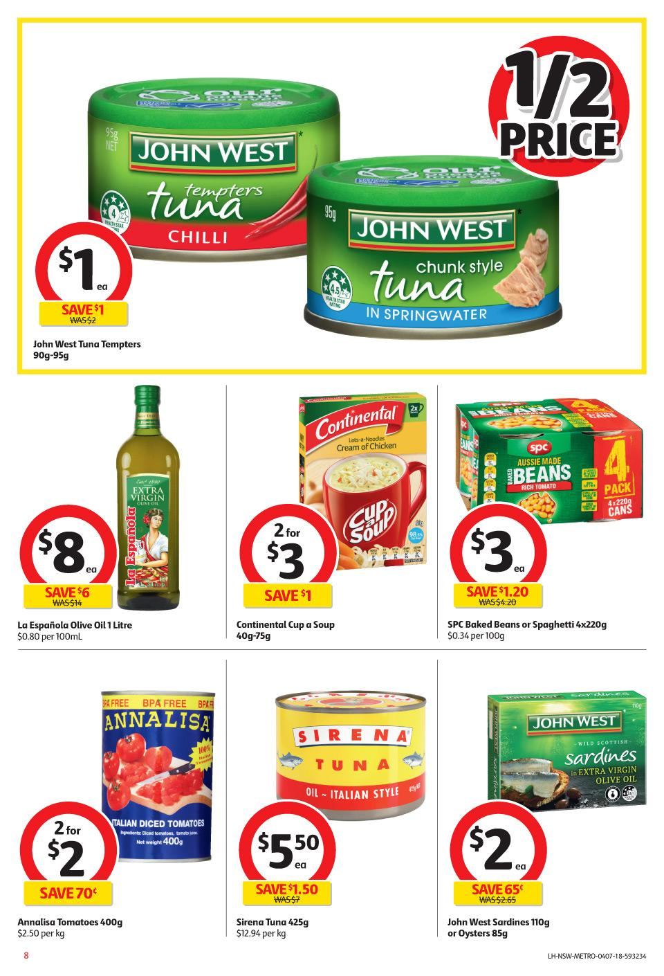 coles catalogue 4 jul 2018