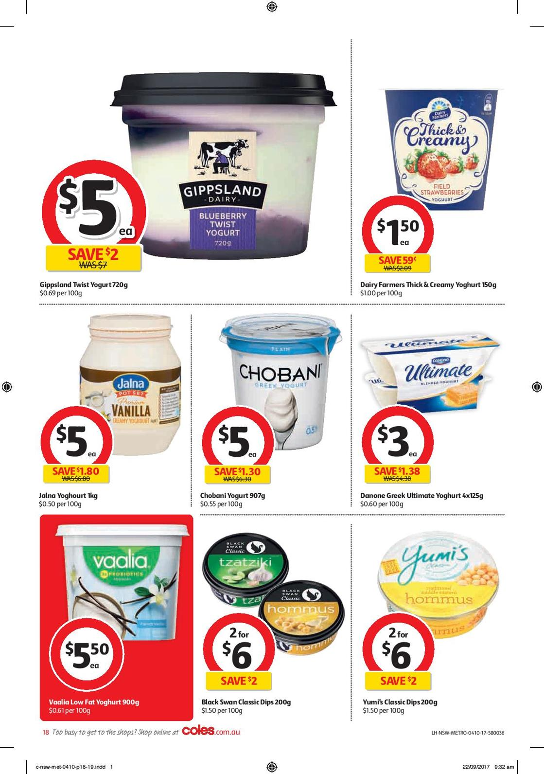 coles catalogue 4 october 2017